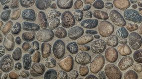 Gravel stones concrete texture background royalty free stock image