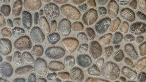 Gravel stones concrete texture background Royalty Free Stock Images