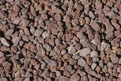 Gravel stones in Germany Royalty Free Stock Image
