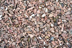 Gravel Stones marble and granite in the sun Ideal for Background Royalty Free Stock Photos