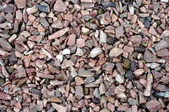 Gravel Stones marble and granite in the sun Ideal for Background. S Stock Photo