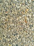 Gravel surface. Concrete & Gravel ground Stock Photography