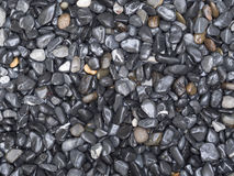 Gravel textrue background. Black and brown gravel textrue background stock image