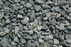Gravel texture. With coarse grain Royalty Free Stock Photography
