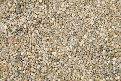 Gravel Texture Background Stock Photography