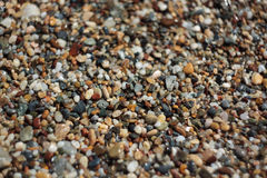 Gravel texture close up Royalty Free Stock Photo