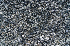 Gravel texture. Consisting of light and dark stones Royalty Free Stock Image