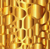 Gravel texture golden background Stock Photos