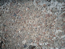 Gravel texture gray and brown Stock Photography