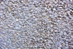 Gravel texture. Gray gravel ground texture pattern Stock Photos