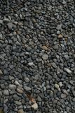Gravel texture. Small stones, little rocks, pebbles in many shades of grey, white and blue. Texture of little rocks, background stock photos