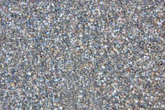 Gravel Texture. With a vague assortment of colored pebbles Stock Photography