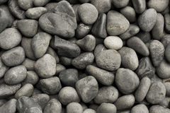 Gravel Too. Collection of loose small to medium sized gravel Royalty Free Stock Image