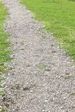 Gravel walking path Royalty Free Stock Photos