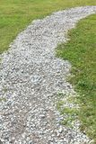 Gravel walking path Royalty Free Stock Images