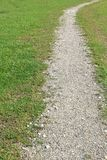 Gravel walking path Stock Photo