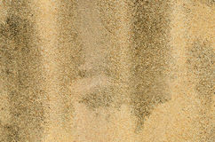 Gravel wall surface with stains Royalty Free Stock Photo
