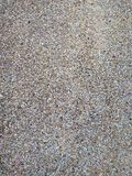 Gravel wall texture royalty free stock photography