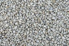 Gravel. White gravel stones background texture Royalty Free Stock Photo