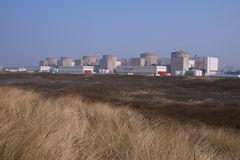 gravelines elektrownia jądrowa Fotografia Royalty Free