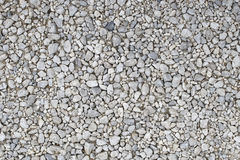 Gravels. Details of gravels for construction - background Royalty Free Stock Photography