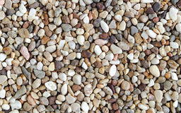 Gravels background, colorful sand. Close up Royalty Free Stock Photos