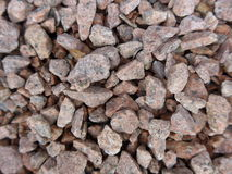 Gravels. Loads of gravels on the ground Royalty Free Stock Photos