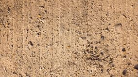 Gravels on a rough surface stock photos