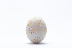 Graven Easter eggs. Royalty Free Stock Photo