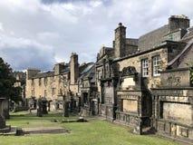 Graven in Greyfriars Kirkyard - Edinburgh - Schotland royalty-vrije stock fotografie