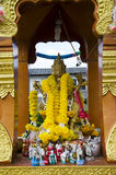 Graven image hindu in thailand Royalty Free Stock Photo