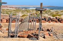 Graven in Namib Stock Afbeeldingen