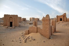 Graven van al-Bagawat Gr-Bagawat, Egypte royalty-vrije stock foto's