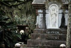 Graven van Bonaventure Cemetery Royalty-vrije Stock Afbeelding