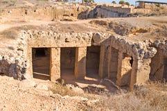 Graven van de koning (oude ruines) Royalty-vrije Stock Fotografie