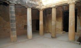 Graven van de koningen - colonade Royalty-vrije Stock Afbeeldingen