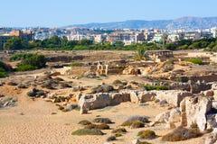 Graven van de Koningen, Cyprus stock afbeeldingen