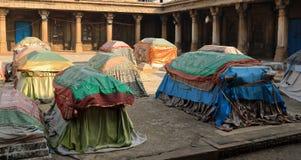 Graven van de koninginnen van Ahmed Shah 2 royalty-vrije stock fotografie