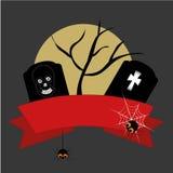 Graven van Halloween Stock Illustratie