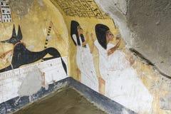 Graven van koningen en Nabala in Luxor royalty-vrije stock afbeeldingen