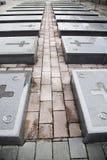 Graven van oorlog stock afbeelding