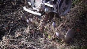 Gravende machine stock videobeelden