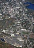 Gravenhurst Ontario, aéreo Fotos de archivo libres de regalías