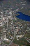 Gravenhurst Ontario, aéreo Foto de archivo libre de regalías