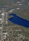 Gravenhurst Ontario, aéreo Imagen de archivo libre de regalías