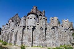 Gravensteen castle. Gent, Belgium Stock Images