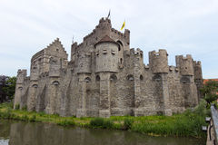 Gravensteen castle in Ghent Royalty Free Stock Photography