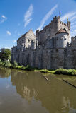 Gravensteen Castle in Gent Stock Photography