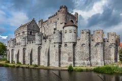 Gravensteen Castle in Ghent Stock Photos