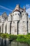 Gravensteen Castle, Ghent, Belgium Stock Image
